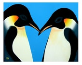 Penguins 8x10 Fine Art Print