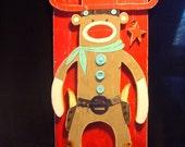 El Caballero Sock Monkey