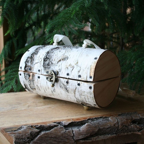 Birch Bark Purse - very unique special occasion hand bag
