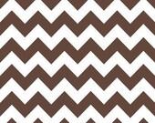 Chevron in Brown---1 yard---Riley Blake Fabrics