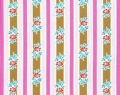 SALE--1 yard---Siobahn in Pink, Poodle, Jennifer Paganelli for Free Spirit Fabrics