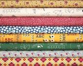 School Days half yard bundle--8 pieces---4 yards total--American Jane for Moda Fabrics