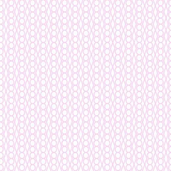 SALE---1 yard---Pale Pink Jewel in Outplayed, Outfoxed, Lizzy House, Andover Fabrics
