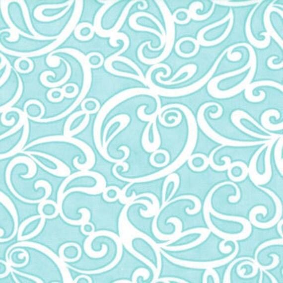 1 yard---Ruby Sublime in Aqua, Ruby, Bonnie and Camille for Moda Fabrics