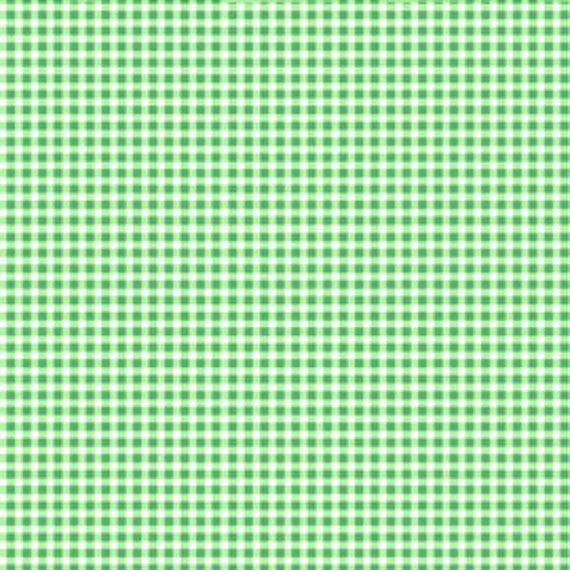 1 yard---Gingham in Green, Pam Kitty Morning, Lakehouse Dry Goods