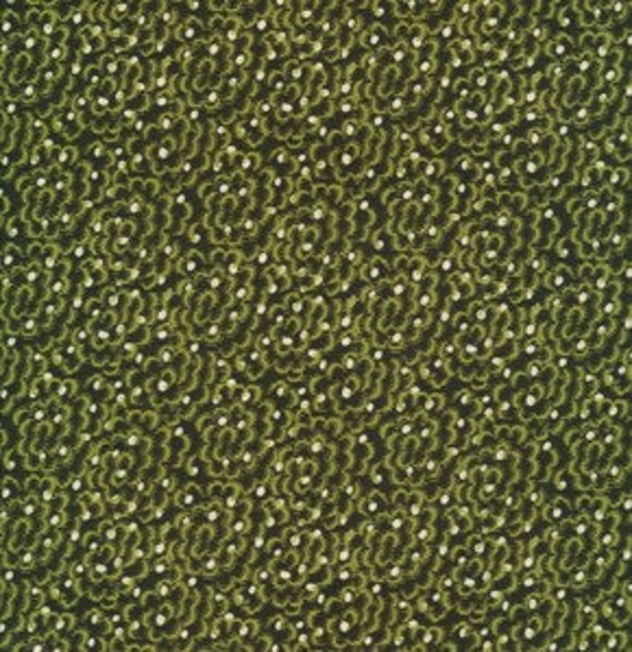 SALE---1 yard---Miss Eleanor in Dogwood, Greenfield Hill, Denyse Schmidt for Free Spirit Fabrics