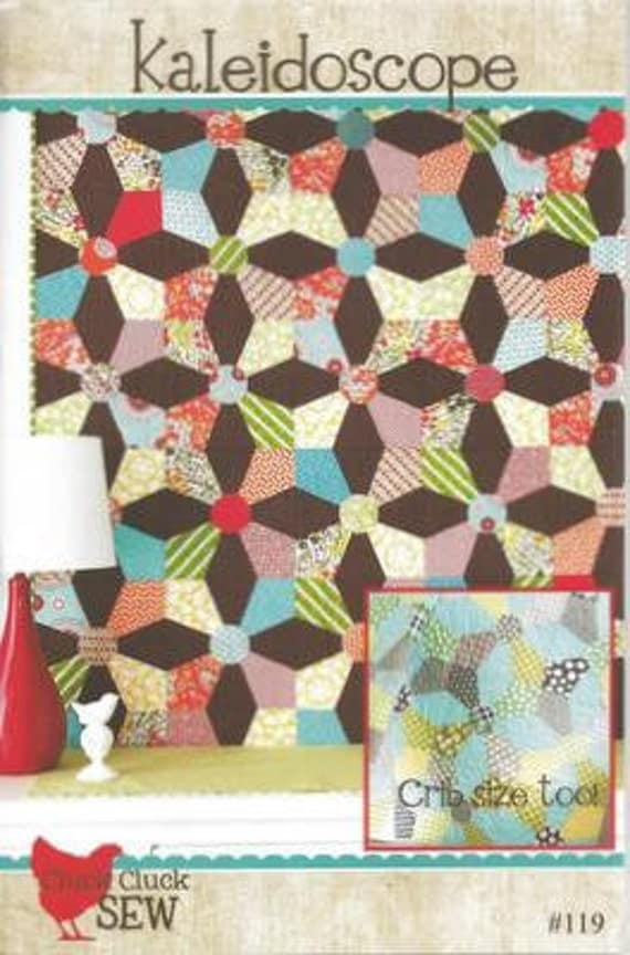Kalidoscope Quilt Pattern by Cluck. Cluck. Sew