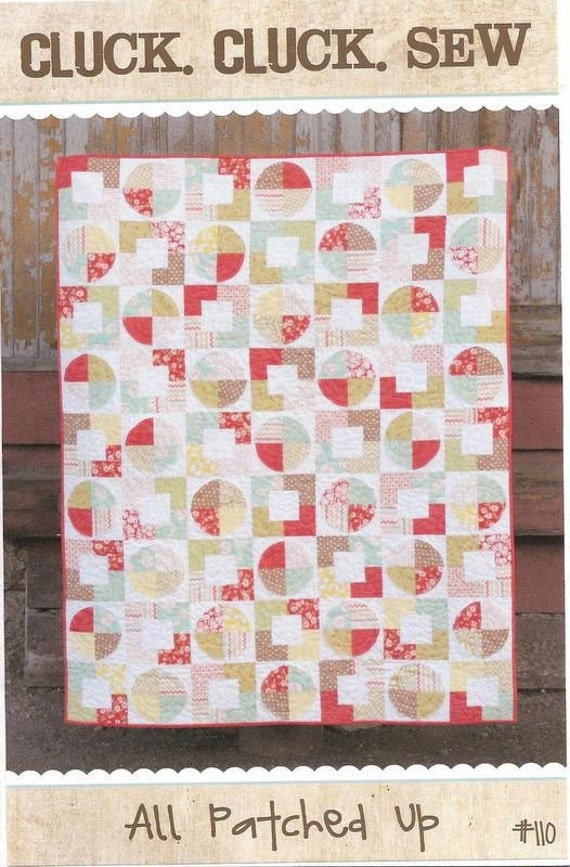 All Patched Up Quilt Pattern by Cluck. Cluck. Sew