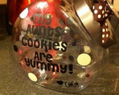 Personalized Treat Container