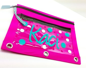 Personalized Pencil Pouch Perfect for Back to School