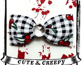 Cherry Poppin Hair Clip
