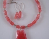 Strawberry Delight Necklace Set