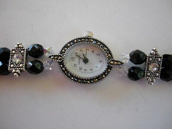 Delicate Marcasite Watch