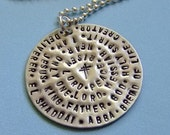 Names of God Necklace, Religious Necklace, Bible Verse Necklace, Confirmation First Communion Baptism Gift, Scripture Jewelry, God Jewelry
