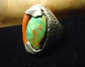 Vintage Native American Sterling silver Ring