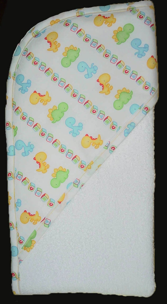 Baby Bath Towel Hooded, Baby Shower Gift , Lil animals