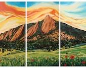 Chatauqua Sunrise: Fine Art Print