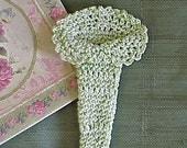 PATTERN Crochet Wrap for Flowers - Create a Bouquet - Includes Example PIctures and Tips