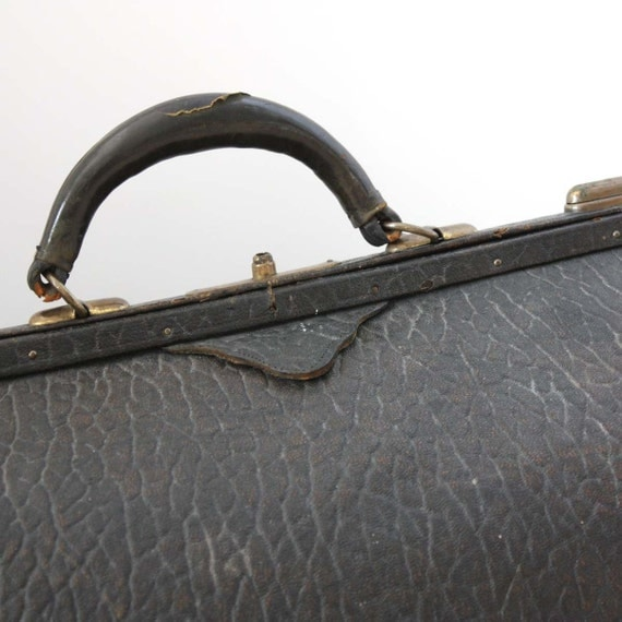 Genuine Walrus 1800s Doctors Bag by Security Trunk Works