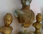 Roman  Ceramic Bust of Artemis RESERVED FOR TACANOM