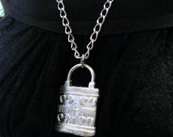SD Lock Necklace