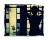 Photography-Polaroid-Stained Glass-Erotic- Art-8x10 Print