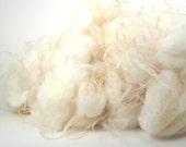 Icelandic Lambs Fleece Organically Washed 4 oz CREAMY WHITE