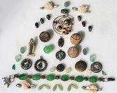 Green Vintage and New Destash Jade
