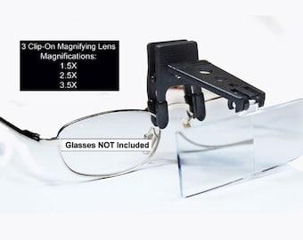 Magnifying Lens For Reading Glasses