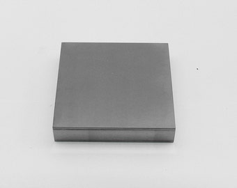 Steel Bench Block - 4 x 4 x 3/4 Inch