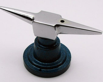 Double Horn Jewelry Anvil With Round Base