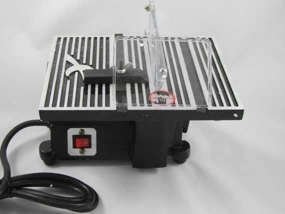4 Inch Hobby Table Saw With 2 Blades