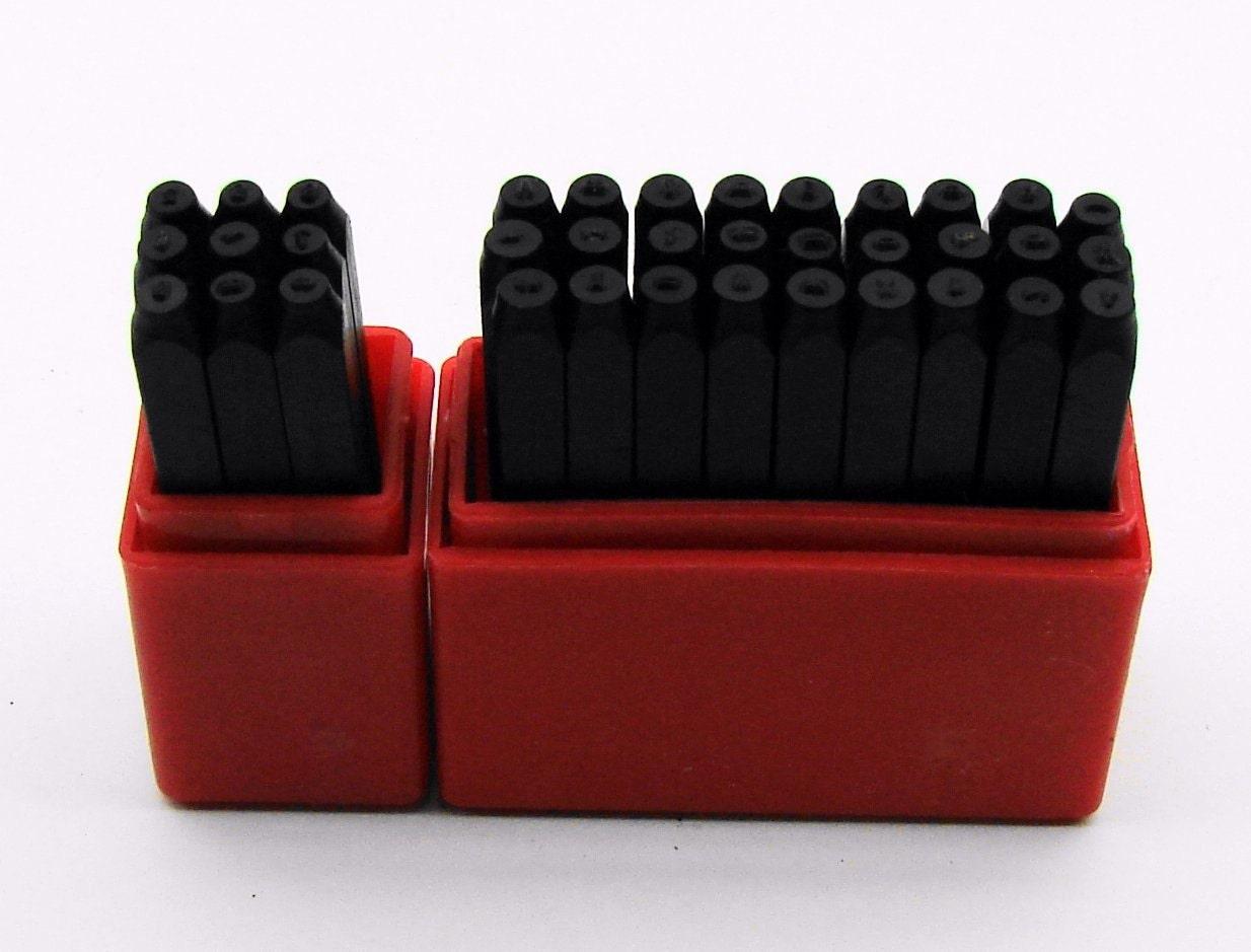 36pc 1 16 1 5mm Letter Amp Number Metal Stamping Set