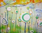 WHIMSY  8.5 x 11 Giclee PRINT by AmberMaida