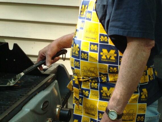 University of Michigan, full apron