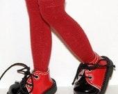 Tall Dark Red Socks...For Blythe...