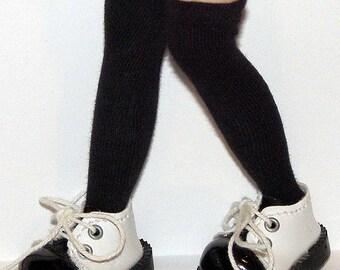 Tall Black Socks For Blythe...