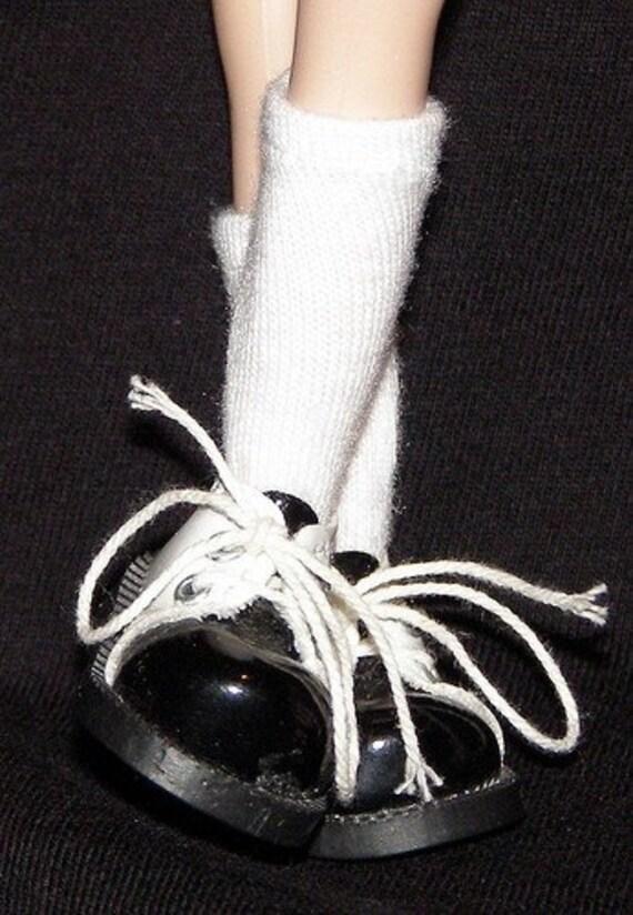 Short White Socks For Blythe...One Pair Per Listing...