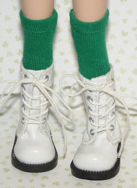 Tall Kelly Green Socks For Blythe...