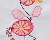 INSTANT DOWNLOAD Flamingo Applique designs