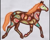 INSTANT DOWNLOAD Horse Applique design