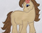 INSTANT DOWNLOAD Little Pony Applique Designs