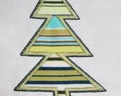 INSTANT DOWNLOAD Yule Tree B Applique Designs