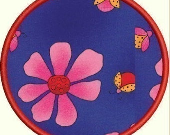 INSTANT DOWNLOAD Single Circle Applique designs