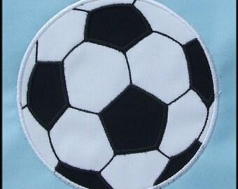 INSTANT DOWNLOAD Soccer Ball Applique designs