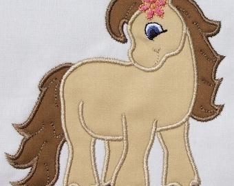 INSTANT DOWNLOAD Little Pony Applique Designs