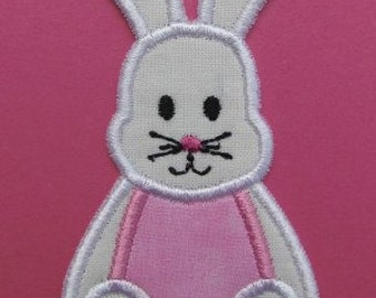 INSTANT DOWNLOAD Stuffed Bunny applique designs
