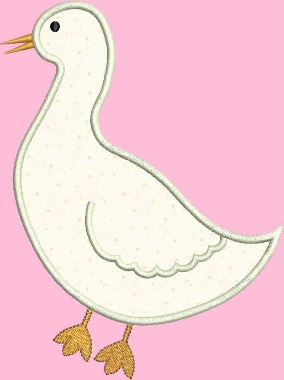INSTANT DOWNLOAD Goose Applique designs