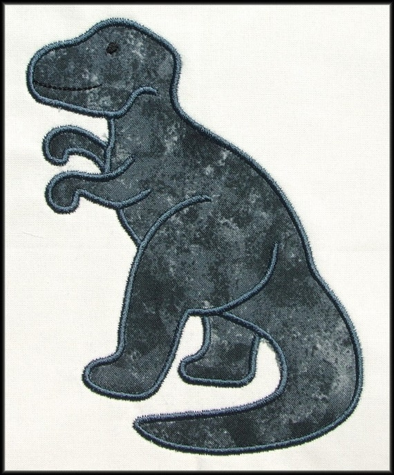 INSTANT DOWNLOAD T Rex Applique and Fill designs
