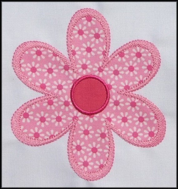 Debs Crochet: Easy Crochet Flower Applique